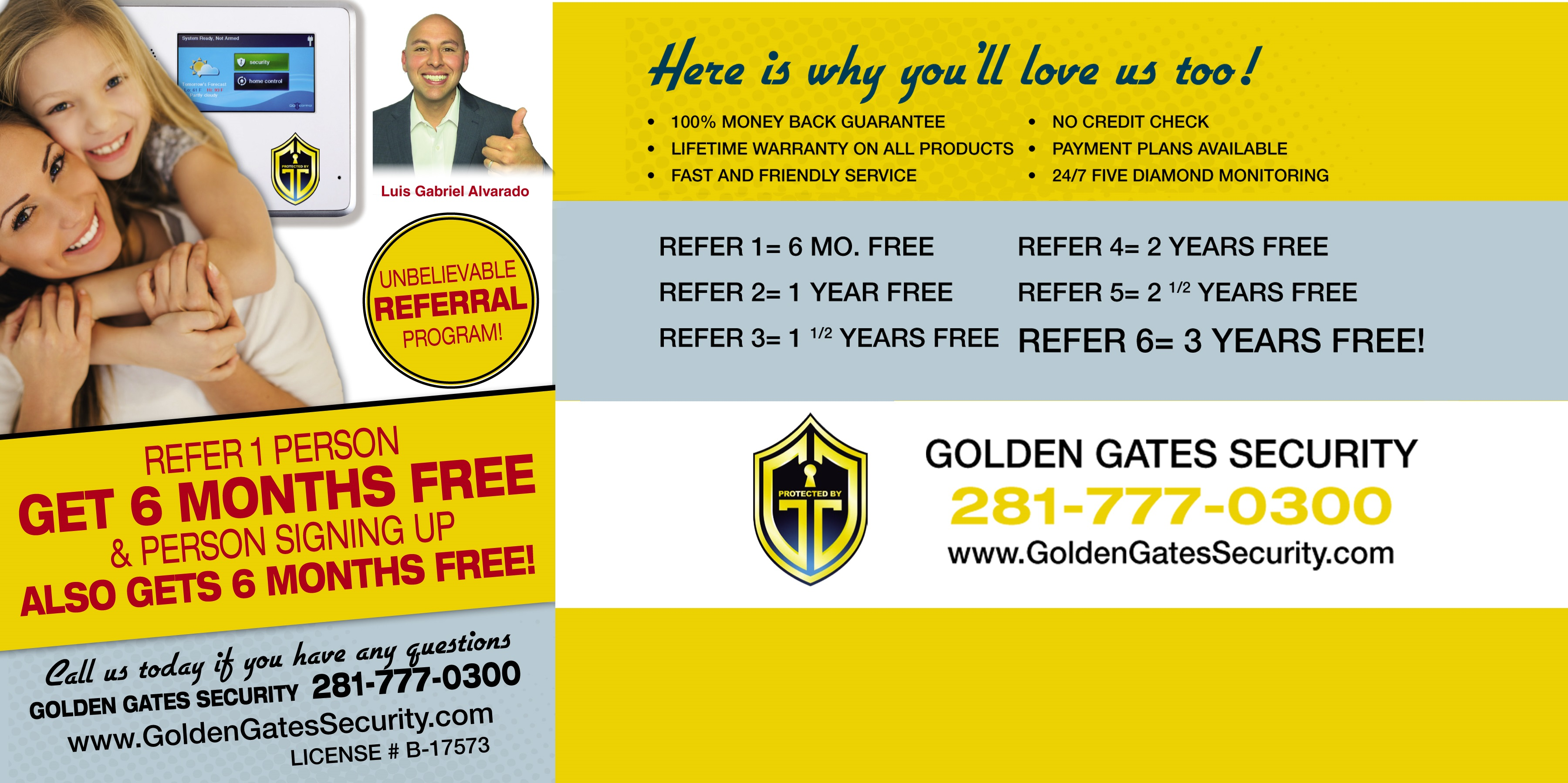 Refer 1 Person, Get 6 Months Free!! NO LIMIT!!